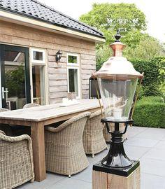Kolom lamp#Sokkellamp Buiten#Tuinlamp Staande Dongeradeel - 76 cm