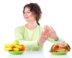 With a Smile, Say 'no' to high-calorie foods that will make you fat!! :)  Follow these #diet tips and stay on track!