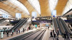 Gallery - Grimshaw Reveal Vision for a High-Speed Concourse at London's Euston Station - 3