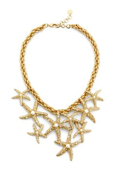 Scattered Starfish Necklace