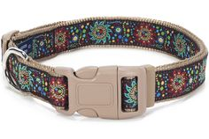 Designer ribbons collars and leashes with color matched buckles for your best friend. Available in toy, threw full size dogs. Puppy Collars, Dog Collars & Leashes, Sun Dogs, Collar And Leash, Dog Harness, Aztec, Polka Dots, Puppies, Belt
