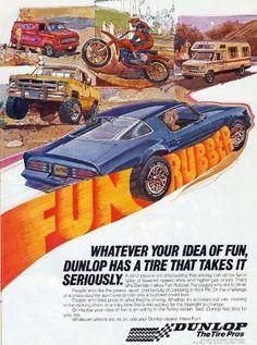 1970 Fun caoutchouc Tire Annonce par sharon.smi
