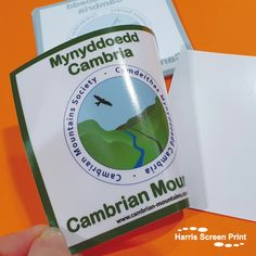 Square car stickers printed for the Cambrian Mountain Society. The car window stickers are printed full colour with a white background. The design is printed so it appears on the sticky side of the car sticker, design facing outwards. They can be stuck onto any window from car windscreens, car rear windows, shop windows, home windows and so on. Shop Windows, House Windows, Car Window Stickers, Car Stickers, Rear Window, Custom Cars, Sticker Design, Screen Printing, Mountain