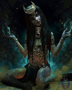 Not my fault that they make so many amazing Enchantress artworks ♥ This one's by Ron Faure ✅ #goth #gothgirl #gothgoth #gothic #dark #makeup #gothicmakeup #beautifulgirl #witch #magic #horror #creepy #scary #Halloween #alternative #alt #altmodel #alternativemodel #darkness #fashion #nugoth #instagoth #best