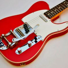 """Fender Telecaster with Fender """"Bigsby""""."""