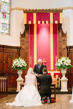 large classic and structured altar urns sit atop pedestals, filled with white hydrangea, white and champagne roses, white french tulips, white snapdragons and white larkspur. Cream Flowers, Tulips Flowers, Roses, Navy Gown, Rose Arrangements, Event Services, Arbors, Classic Beauty, Altar
