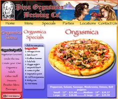 I've been told the pizza is amazing here. It's in San Francisco!  http://www.pizzaorgasmica.com/orgspecials.html