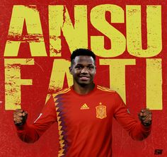 Barcelona forward Ansu Fati, born in Guinea-Bissau, is now eligible to play for Spain. Barcelona Soccer, Fc Barcelona, Messi Champions League, Real Madrid Kit, Jordi Alba, Design Squad, Soccer Pictures, Malaga Spain, Football Gif
