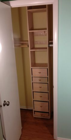 Ana White | Closet tower from scraps! - DIY Projects