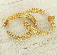 Bracelets, Gold, Jewelry, Fashion, Women, Moda, Jewlery, Jewerly, Fashion Styles