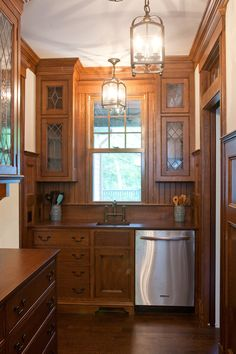 ButlerS Pantry bright white cabinets cabinets cabinets near back door ...
