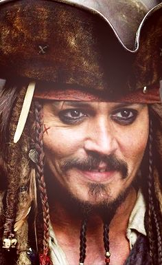 """My tremendous intuitive sense of the female creature informs me that you are in trouble."" / Captain Jack Sparrow"