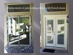 Photo Gallery: Peter Fallico\'s Backyard | Exterior french doors ...