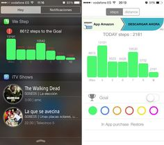 We Step, el widget para controlar nuestros pasos diarios