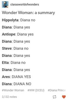 "Hahahaha, but I think Etta would be more like ""Diana yes!"" *sees Steve's disapproving face* ""Er, Diana. The Wicked The Divine, I Am Batman, Dc Memes, Fandoms, True True, Detective Comics, Young Justice, Geek Out, Gal Gadot"