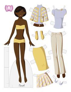 Norah Fashion Paper Doll by juliematthews