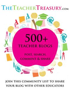 Now Nearly 700 Teacher Blogs all in one place - Post, Search, Comment & Share your blog today!