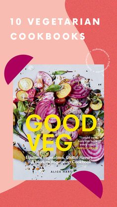 The best vegetarian cookbooks.