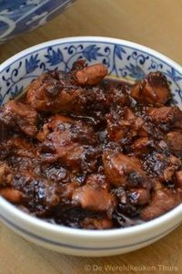 Babi soy sauce Babi ketjap, tender Indian pork in ginger-ketjap sauce. As part of an extensive rice table or simpler with rice and a vegetable dish. Indian Food Recipes, Asian Recipes, Healthy Recipes, Dutch Recipes, Cooking Recipes, Asia Food, Indonesian Food, No Cook Meals, Food For Thought