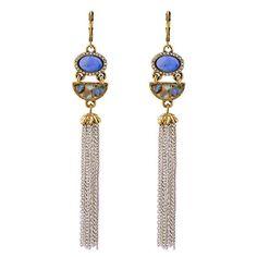 Wholesale Vintage Gold Semicircle Abalone Silver Fringe Tassel Dangle Earrings Long Women Jewelry 2017 #Affiliate