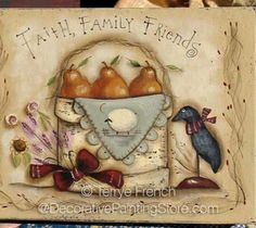 The Decorative Painting Store: Faith, Family, Friends Pattern - Terrye French, Newly Added Painting Patterns / e-Patterns