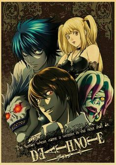Death Note Posters Retro Posters - Q027 10