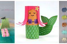 Lavoretti per bambini: i più originali e divertenti da realizzare Diy And Crafts, Crafts For Kids, Origami, Dinosaur Stuffed Animal, Alice, Shabby Chic, Activities, Christmas Ornaments, Toys