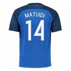 2016-17 France Home Shirt (Matuidi 14)