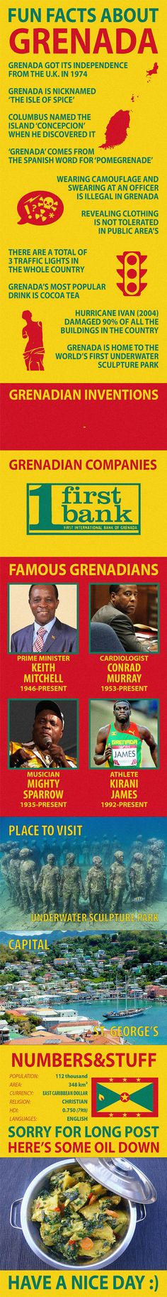 Fun Facts about Grenada