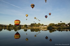 Prosser Hot Balloon Rally, WA by Peter Cheung, via 500px