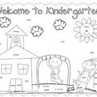 This is a cute coloring sheet for the first day of school. Have students do this for morning work while you deal with first day craziness!!   Enjoy...
