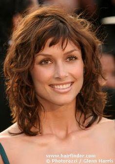 Celebrity Hair Cuts: Short Bangs! Shannyn Sossaman, Bridget Moynahan, Charlize Theron, Audrey Hepburn & Debbie Reynolds