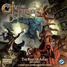 Cadwallon: City of Thieves – The King of Ashes, 7.0 BGG rating.