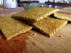 Sunflower and chia seed squares - Wilderness Magazine NZ