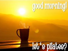 Nothing like doing a pilates session to get you going in the morning. Are you booked in?