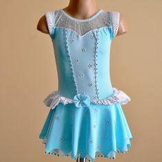 Princess Cinderella Inspired Figure Skating Dress Size 2T - C5. $199.00, via Etsy.