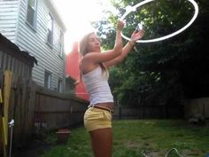 The Vortex - A great trick for a beginner! Check out Taylor Starr's other hoop tutorials :)