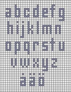 Embroidery Letters Patterns Alphabet Fonts Ideas For 2019 Crochet Alphabet, Crochet Letters, Cross Stitch Alphabet Patterns, Embroidery Alphabet, Cross Stitch Letters, Cross Stitch Baby, Letter Patterns, Loom Patterns, Stitch Patterns