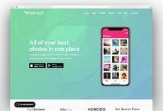 Pursuit - A Flexible App & Cloud Software Theme App Store Google Play, Mobile Application, Wordpress Theme, Flexibility, Cloud, Software, Templates, Stencils, Back Walkover