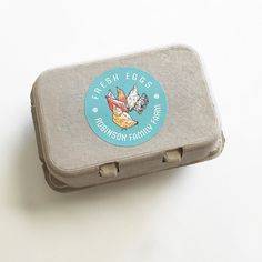 Egg Carton Labels Food Labels Chicken by GalleryintheGarden