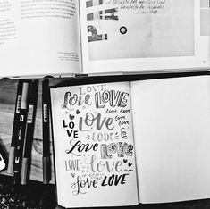 Thinkin about all the things we love love love about the weekend! Tag us with #ssletters if lettering is part of yours! #acreativedc #lettering #handlettering #dtss #silverspring #madeatcatylator