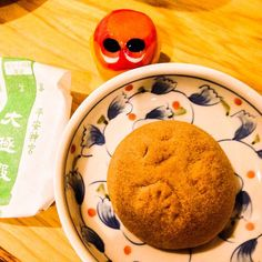 Daigokuden! It is a well-known product of Heian Jingu and like Manju! Yumm #mizumushikun #manju #kyoto #sweets #japanesefood #japanesesweets #foodie #yummy #delicious #elegant #cute #happy #japan #japanese