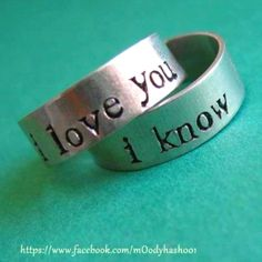 Promise rings.!