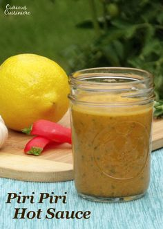 Bright lemon and spicy chilies come together in this incredibly versatile Piri Piri Hot Sauce recipe. Spice Blends, Spice Mixes, Hot Sauce Recipes, Piri Piri, Homemade Ranch Dressing, Friend Recipe, Spicy Chili, Chicken Marinades, Us Foods