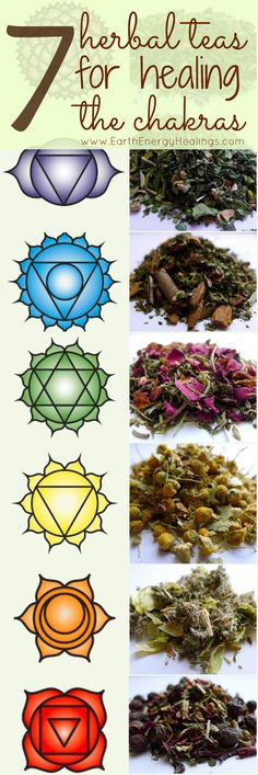 Numerology Spirituality - Herbal Chakra Teas to Heal the 7 Chakras. Intuitively handcrafted and organic herbal healing teas for the chakra system. Get your personalized numerology reading Ayurveda, Holistic Healing, Natural Healing, Crystal Healing, Healing Stones, Les Chakras, Mudras, Reiki Symbols, Mind Body Spirit