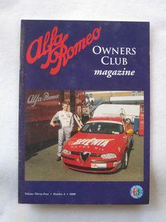 Alfa Romeo Owners Club Magazine Vol 34 Number 2 2000