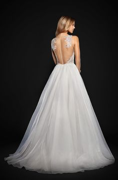 Kenny Organza A-Line Gown by Hayley Paige