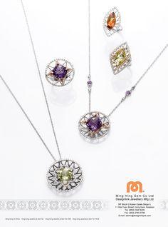 Designlink Jewellery (Mfg) Ltd. #HKJE #Magazine #FallWinter2015 #Advertisement…