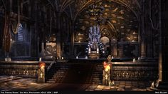 The Throne Room - Handheld Environment — polycount
