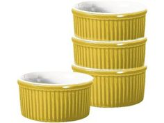Classics Ramekins (Set of 4): Citron by Emile Henry at Food Network Store
